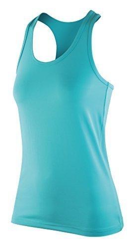 Softex Aptitude Débardeur dos nageur Débardeur Super Doux Séchage Rapide Fabric Avec HighTec Extensible Couleur Menthe