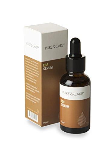 PUCA PURE & CARE, EGF Serum, 1er Pack (1 x 30 ml) -EGF Serum Essence für Hautregeneration, Zellerneuerung, Zellbildung, Narben & Acne...