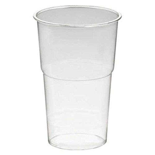 300 Stk. Trinkbecher Smoothiesbecher Dessertbecher 200 ml, Ø 78mm, PET, glasklar / PET Becher sind glasklare und bruchfeste Becher für Getränke, Desserts, Smoothies, Obstsalat, Eiscafés, Eistees, Cocktails, Softeis, Shakes etc . Im Vergleich zu herkömmlichen Bechern sind PET-Becher deutlich stärker und robuster.