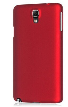 WOW Imagine Rubberised Matte Hard Case Back Cover For Samsung Galaxy Note 3 Neo (Maroon Wine Red)