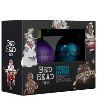 Tigi Bed Head Twisted Texture Set-Small Talk Thickifier 200ml & Hard To Get Texturizing Paste 42g (Bed Thickifier Small Head Talk)