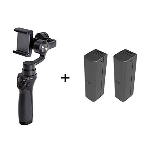 DJI Osmo 3-Achsen Bildstabilisator - Bildstabilisator für iPhone und Smartphone, Unterstützung für Smartphone, Zubehör für Foto- und Videoaufnahmen, 3 Achsen (kardanisch), 3 Batterien