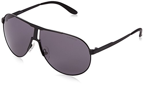 Carrera NEW Panamerika Aviator Gafas de sol, negro (Matte Black & Gray), 64 mm