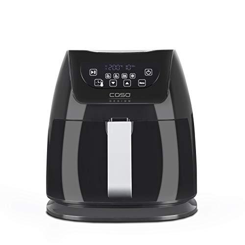 CASO AF 250 Design Heißluftfritteuse, Temperatur 60°C-200°C, extra großer Frittierkorb (3 Liter), innovative Luftstrom-Technologie, fettreduzierte Zubereitung jeglicher Speisen