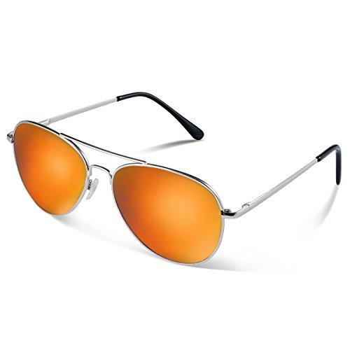 Duduma Prämie Pilotenbrille Flieger Sonnenbrille UV400 Schutz Optimal Entwurf Herren und Frauen Aviator Sonnenbrillen