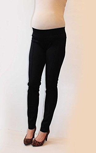 Mia maternity - Pantalon spécial grossesse - Femme S, M,L,XL black punto