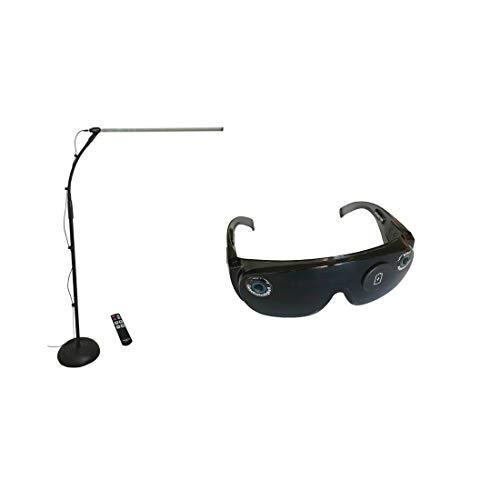 REMSTIM 3000 & 4000 EMDR-Brille & EMDR-Gerät zur Stimulation von Augenbewegungen (1 Set)