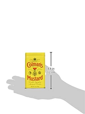 Colmans Mustard Powder 113g - Senfpulver von Colmans bei Gewürze Shop