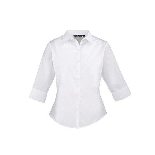femmes-3-4-pour-femme-popeline-chemisier-a-manches-courtes-pour-femme-coloris-uni-chemise-de-travail