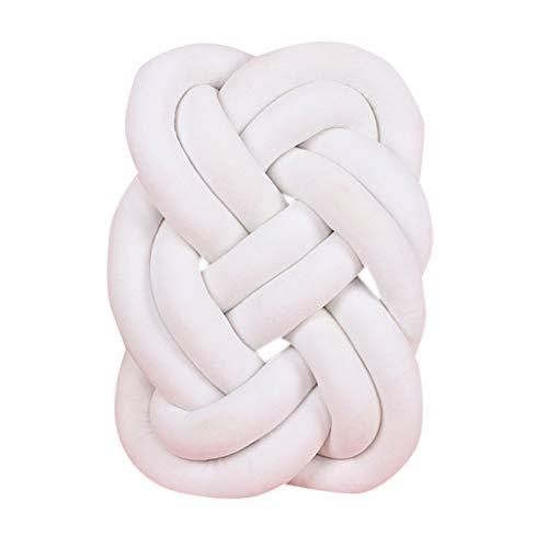 Mitlfuny Unisex Baby Kinder Jungen Zubehör Säuglingspflege,Baby-buntes weiches Knoten-Kissen-umsponnenes Krippen-Stoßstange-dekoratives Bettwäsche-Kissen