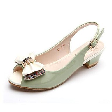 Zhenfu Sandales Pour Femmes Confort Printemps Cuir Casual Lumière Vert Amande Bleu Clair Flat Light Green