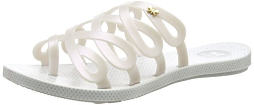 Zaxy Infinity, Sandales Plateforme femme Argent - Silver (Pearl)