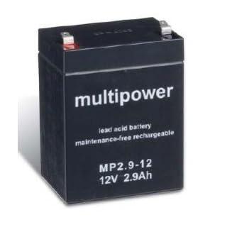 Multipower Blei-Akku MP2,9-12, 12V / 2,9Ah