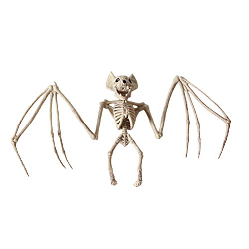 (BESTOYARD Tier Skelett Deko Fledermaus Skelett Halloween Horror Deko Party Zubehör)