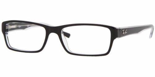 ray-ban-optical-mens-rx5169-black-on-transparent-frame-plastic-eyeglasses-54mm