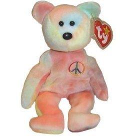 Ty Beanie Babies - Peace Bear [Toy]