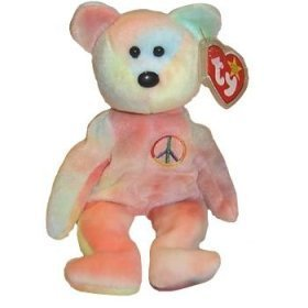 peace-the-bear-ty-beanie-baby