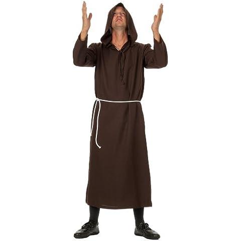 R-Lingerie Monaco Robe di alta qualità, costume Robe Priest ideale per festa a tema, Halloween, (Alta Priest Robe)