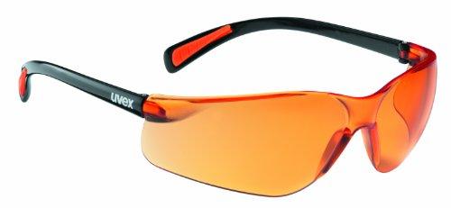 Uvex Flash Black (001)/orange (black shiny)