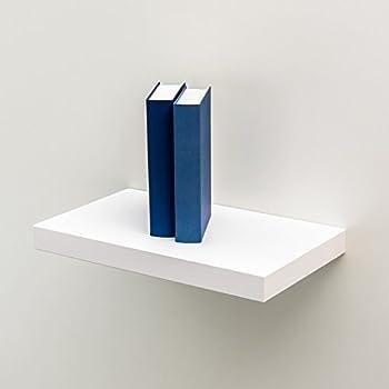 wandboard wandregal h ngeregal in weiss sondermass nur 40 cm breit k che haushalt. Black Bedroom Furniture Sets. Home Design Ideas