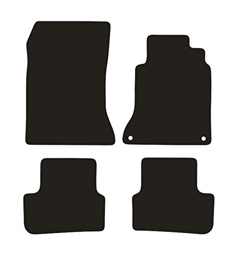Premier Products (Notts) L-7502-2OER Tailored Fit Car Mats, with Black Trim