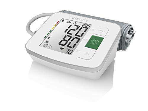 Medisana BU 512 Oberarm Automatisch 2 Benutzer - Blutdruckmessgeräte (Oberarm, Automatisch, Weiß, 2 Benutzer, LCD, AA)