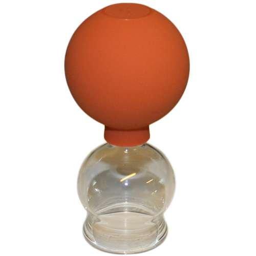 Saugglocke mit Ball 30mm - Schröpfkopf Biersche Glocke