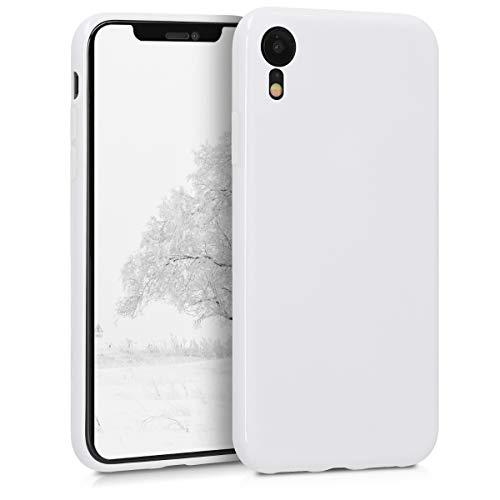 kwmobile Apple iPhone XR Hülle - Handyhülle für Apple iPhone XR - Handy Case in Weiß matt Apple Iphone Weiß