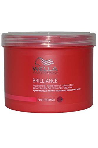 WELLA Professionals Brilliance Haarkur für grobes, coloriertes Haar, 1er Pack (1 x 500 ml)