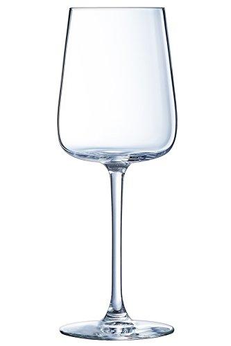 Luminarc 8021578 Lot de 3 Verres A Vin 25 CL, Transparent, 28 x 9 x 21,8 cm