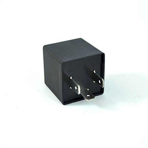 Blinkrelais LED-geeignet 12V 0,02-20A 3-polig Blinker lastunabhängig - Relais 3 Polig