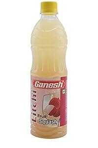 Ganesh Fruit Squash, Litchi, 700ml