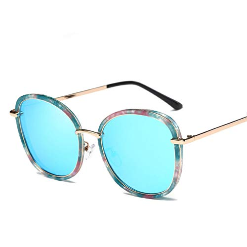 Chudanba Damen Sonnenbrille Frauen Marke weibliche Retro Mode Sonnenbrille 2017 polarisierten Stil Sonnenbrille uv400 Brillen,2