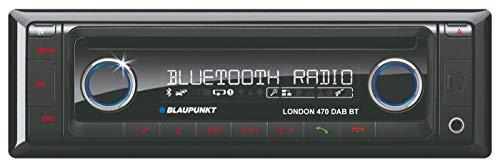 Blaupunkt 2001017123460 London 470 DAB BT Autoradio (CD-/MP3-Tuner, Bluetooth, Front-AUX-in) schwarz