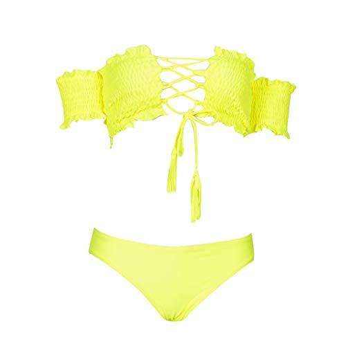 Cooljun Frauen Athletic Training Badeanzug Bademode Badeanzug Frauen Mädchen Bikini Set Bügel Gepolsterte Sexy Beach Floral Anzug Bodycon Bademode