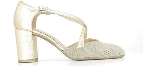 Zapato Hispanitas Taupe Gold Talla 40