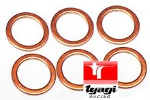 14 x 18 x 1.4 Copper Washer Sealing Washers 14mm x 18mm x 1.4 Test