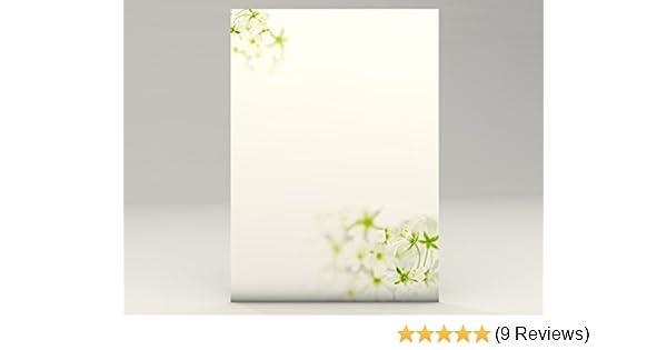 Motivpapier Sommerwiese 90g//qm 20 Blatt Motivpapier DIN A4