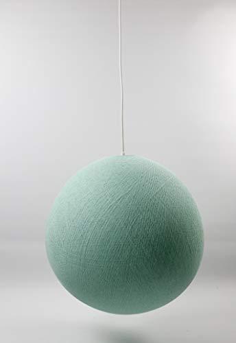 Cotton Ball Lights Mint 36cm Hängelampe einzeln, Baumwolle, 36 cm -