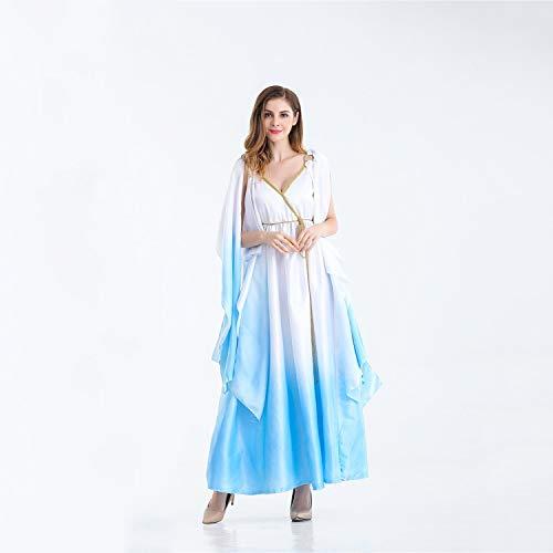 Halloween Römisches Reich Kostüm Athena Style Göttin Kleid -