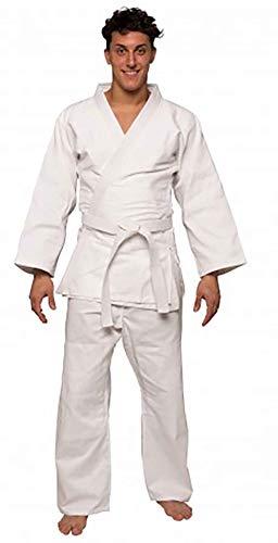 Bemartial beginner, judogi unisex - adulto, bianco, 3/160 cm