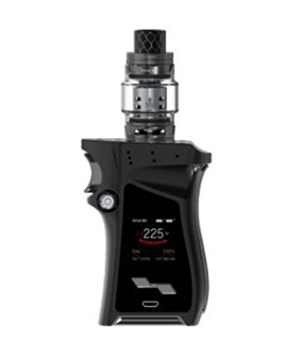 Authentisch SMOK Mag Kit Kein Nikotin 225W Mod mit 8ml TFV12 Prince Tank Rechte Version (Schwarzes Rotguss) -