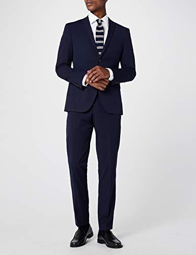 Seidensticker Herren Business Hemd Tailored Fit - Bügelfreies, schmales Hemd mit Kent-Kragen - Langarm - 100% Baumwolle, Weiß 42, Weiß (Weiß 1), 42 CM