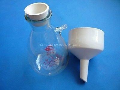 1000ml Buchner Trichter Apparat, Filter Trichter Kit Verwendet für Vakuum Saugnapf