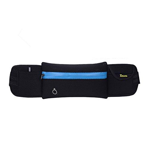 Mit Taschen, Übung, Taschen, Outdoor - Männer Und Frauen Black blue strip mesh