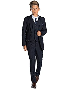 Paisley of London, Marina de guerra de muchachos traje, Niño corte ajustado traje, Graduación trajes, 12-18 meses...