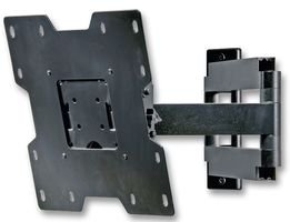 Peerless SA740P - PEERSA740P - Articulating wall mount for LCD screens with tilt pan and roll 22 - 40 max weight 36kg - Black Tilt Wall Mount Peerless