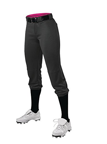 Alleson Ahtletic Damen Fastpitch/Softball Speed Hose, Damen, schwarz, Medium -