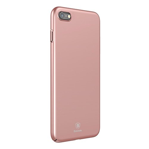 Phone Case & Hülle für iPhone 6 Plus & 6s Plus PC ultradünner Schlag-Schutz-Abdeckungs-Fall ( Color : Red ) Rose gold