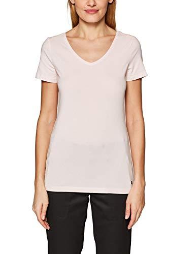 Esprit 029EE1K001 T-Shirt, Rose (Light Pink 4 693), XXL Femm
